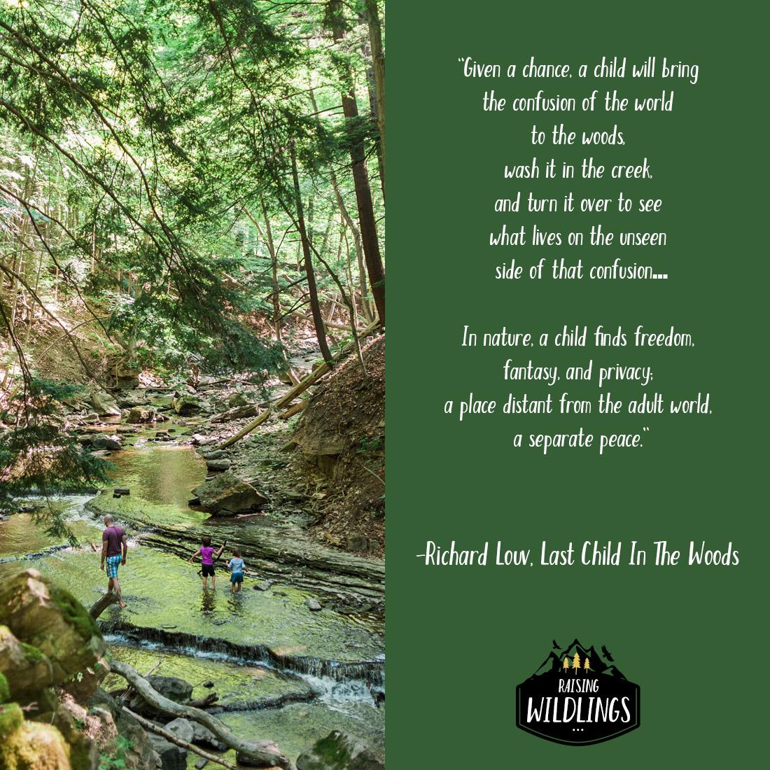 Raising Wildlings -Cambridge Forest School Initiative
